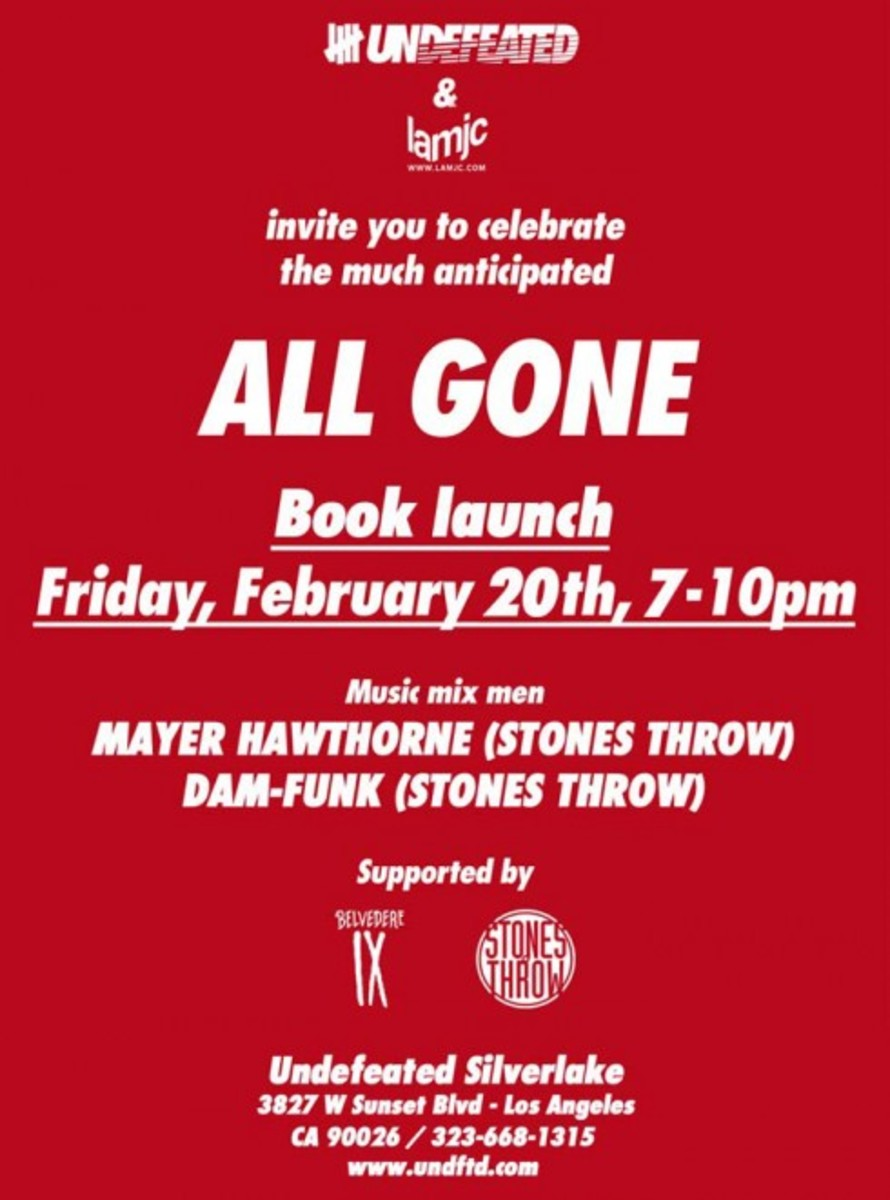 UNDFTD Silverlake - ALL GONE 2008 Book Launch - 0