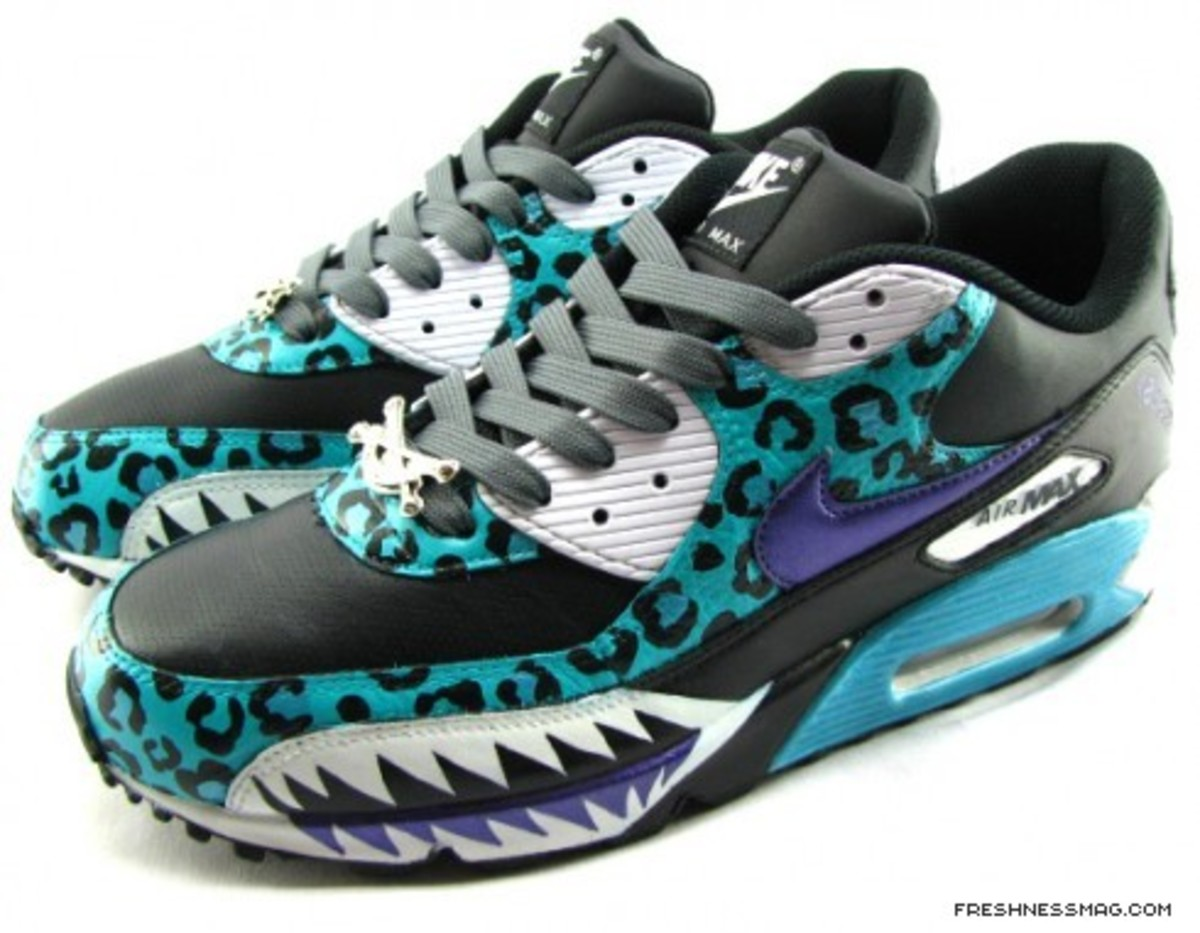 SBTG - Spring 2009 One Of One - Shark Attack Teal Air Max 90