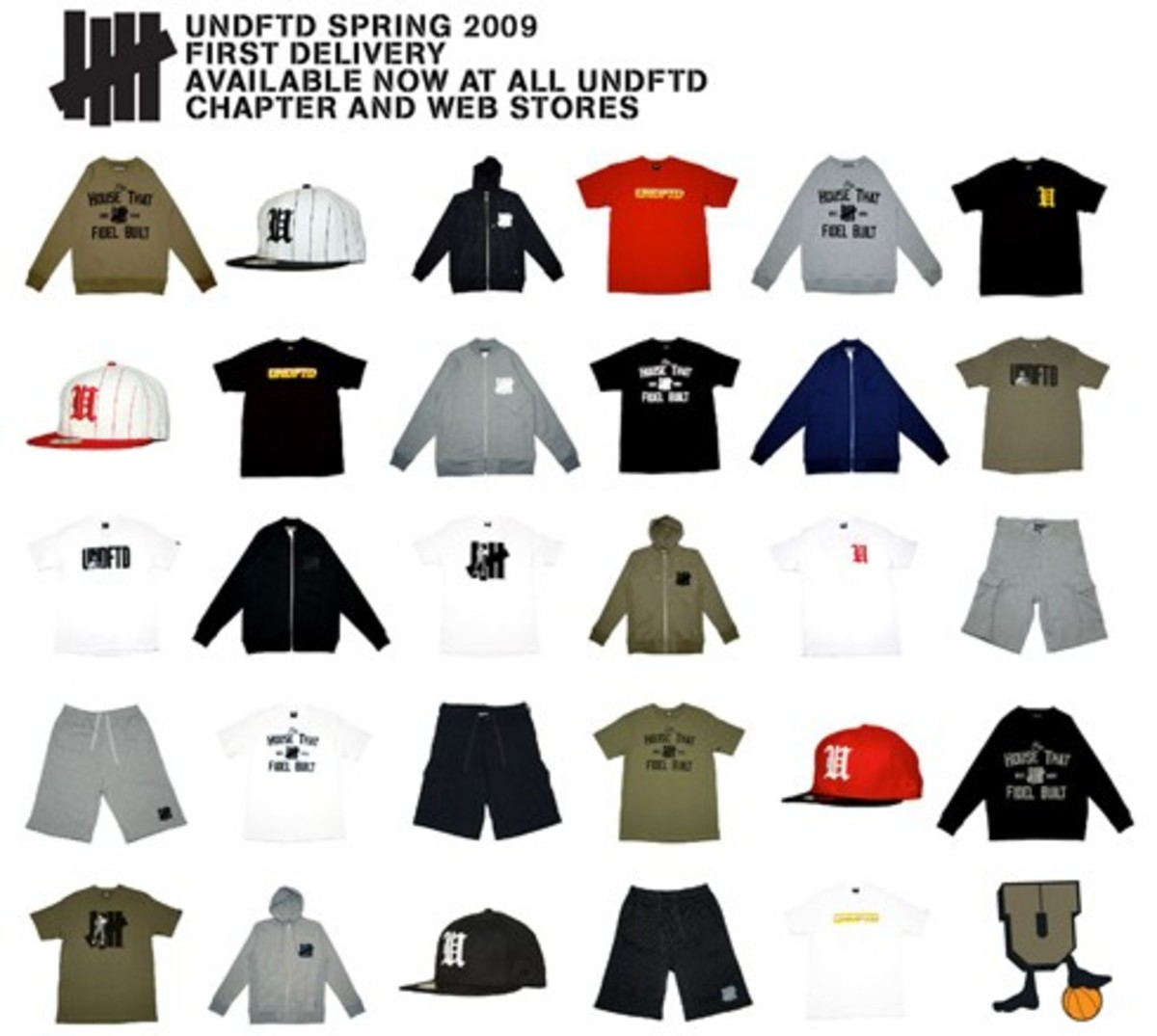 UNDEFEATED (UNDFTD) - Spring 2009 Collection - Available Now