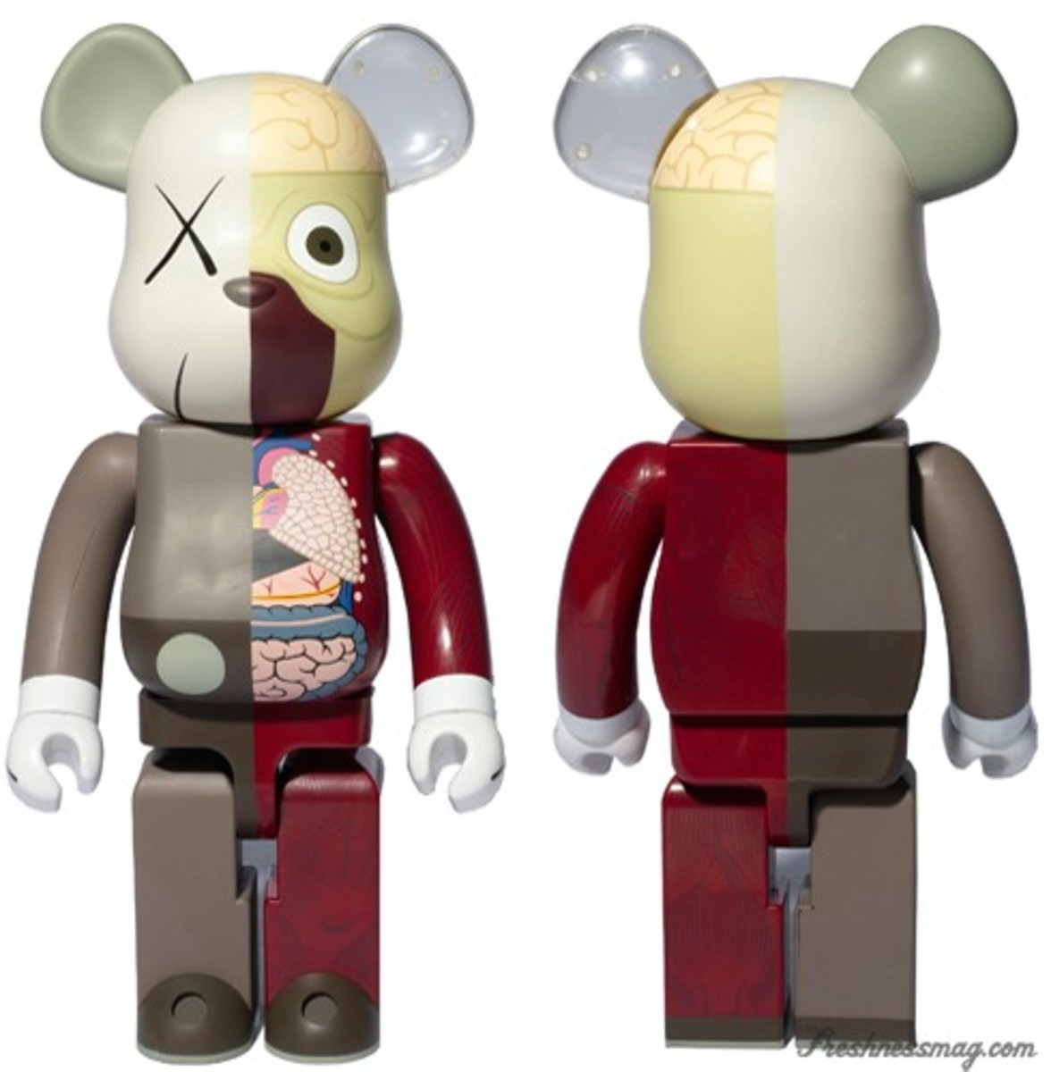 OriginalFake x MEDICOM TOY CO - KAWS Dissected Companion BE@RBRICK | Confirmed Colorway