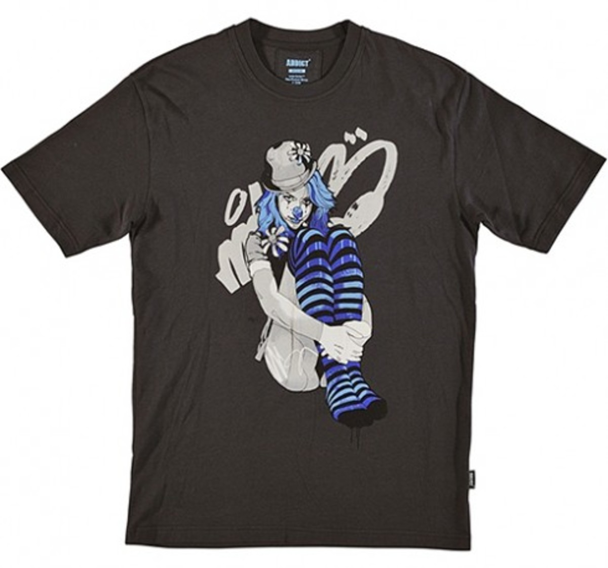 ADDICT x Mitch - Clown Series T-Shirt Collection | Girl 1 Stripes