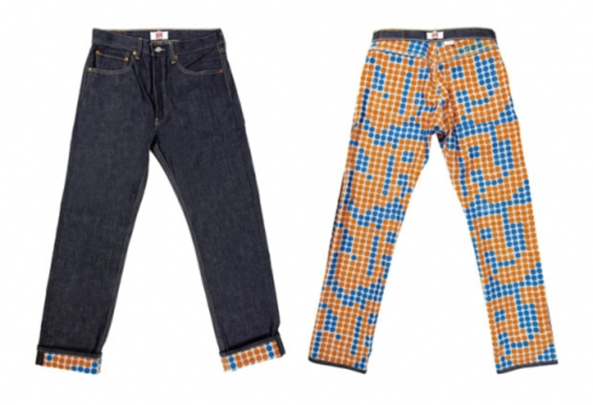 Levi's 501 - Graphic Collection Denim - 2