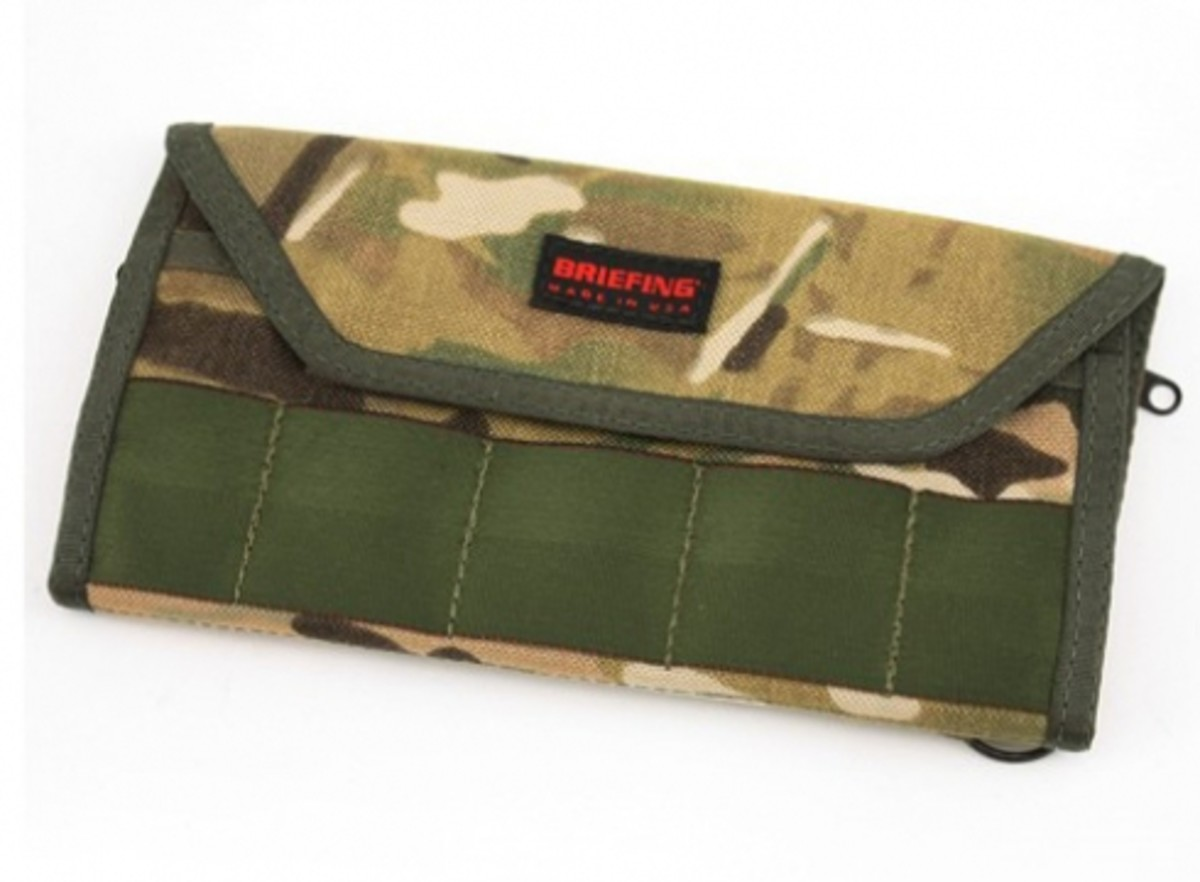 BRIEFING x Eagle Industries - Camouflage Collection - Tri-Fold Wallet