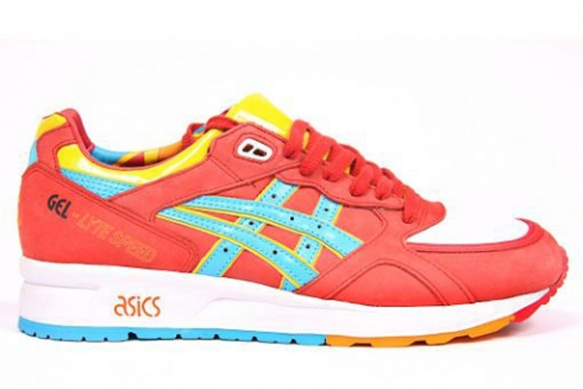 ASICS x Patta - Gel Lyte Speed Pack - Parra (Red) Edition