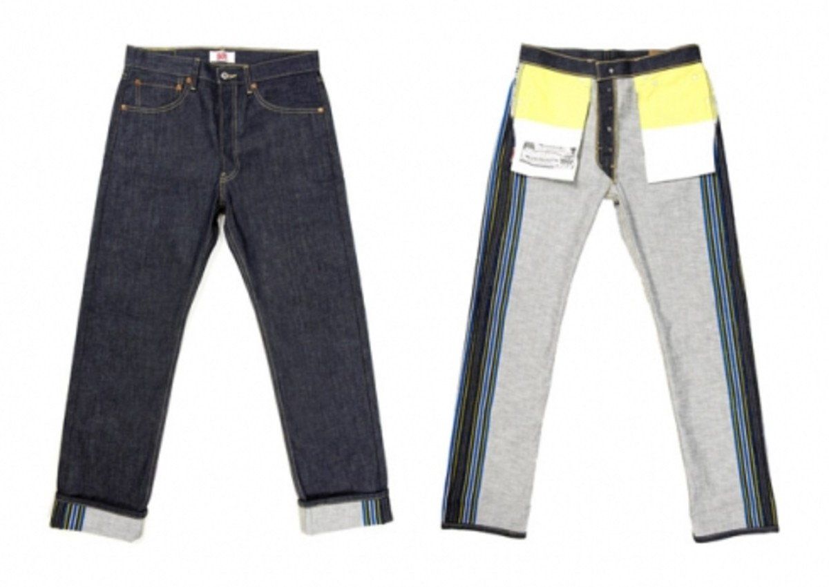 Levi's 501 - Graphic Collection Denim - 3