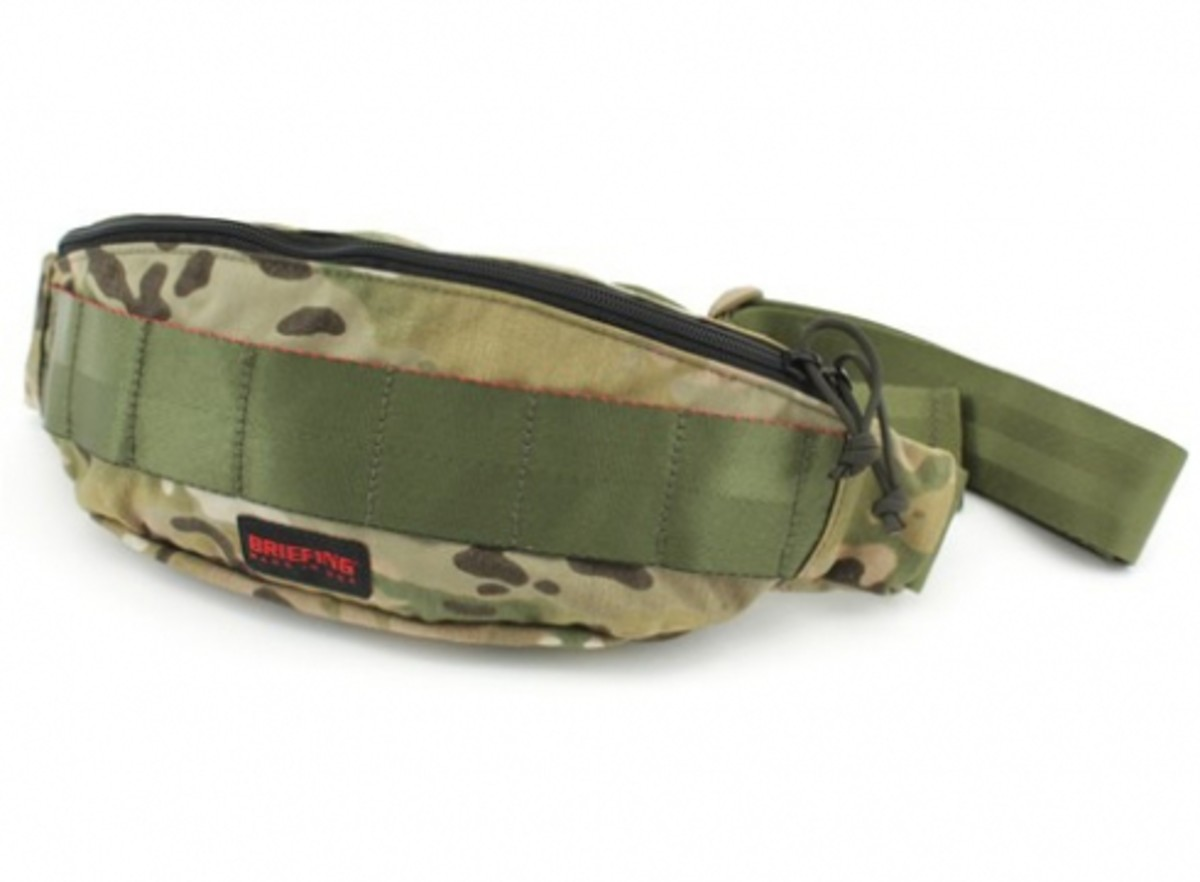 BRIEFING x Eagle Industries - Camouflage Collection - Tripod Waist Pack