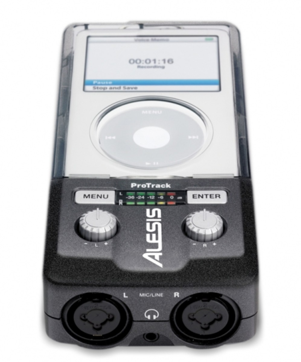 ALESIS - ProTrack Stereo Digital Record for iPod