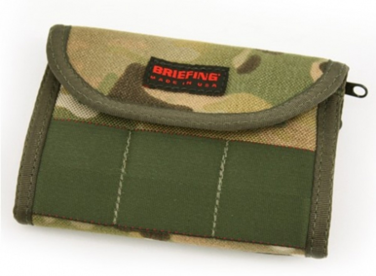 BRIEFING x Eagle Industries - Camouflage Collection - Bi-Fold Wallet