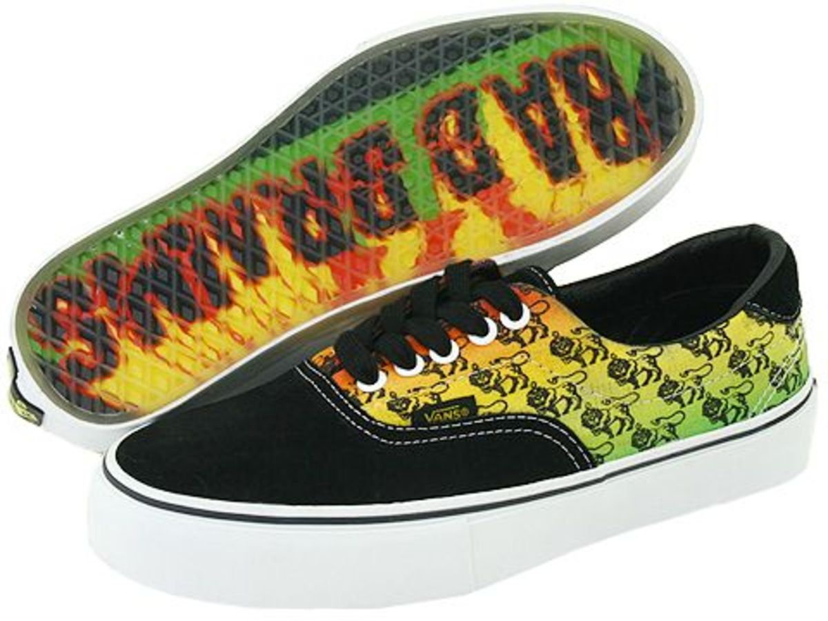 VANS x Bad Brains - 46 LE - SK8 Hi - Chukka Boot