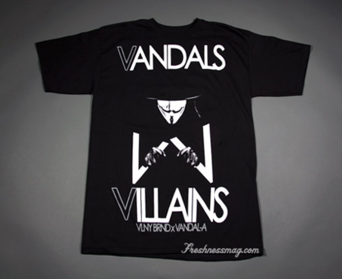 Villain-A T-shirt Catalog