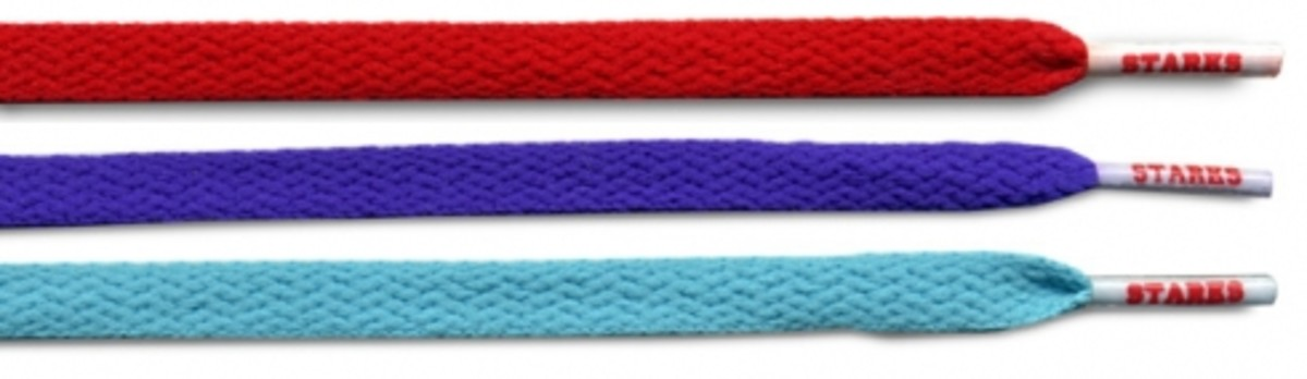 Starks Laces - Solids Pack + Tiffany Laces - 0