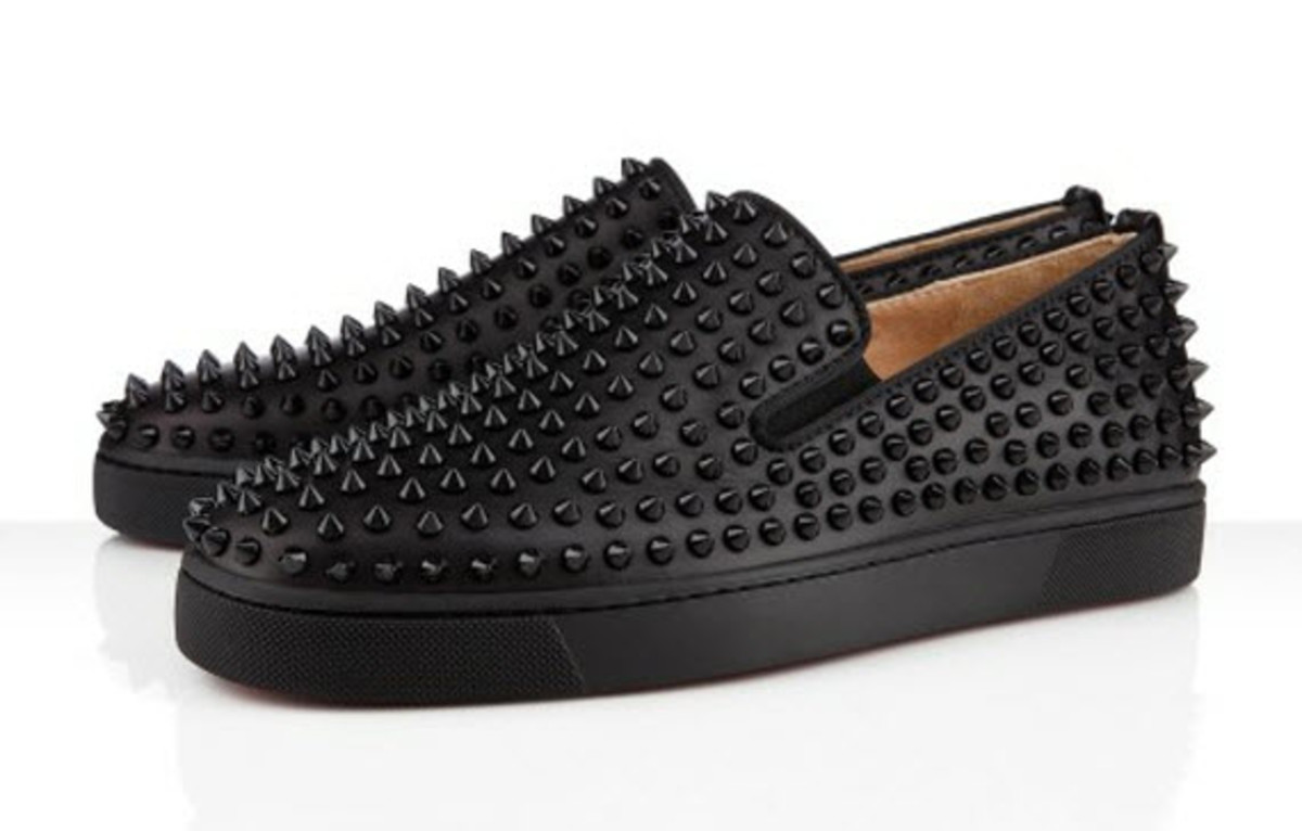 Roller Boat Spikes Sneakers