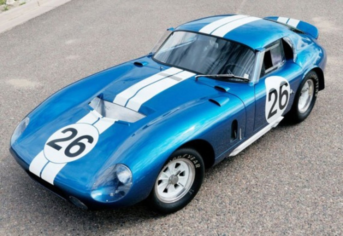 1. The 1965 Shelby Daytona Coupe