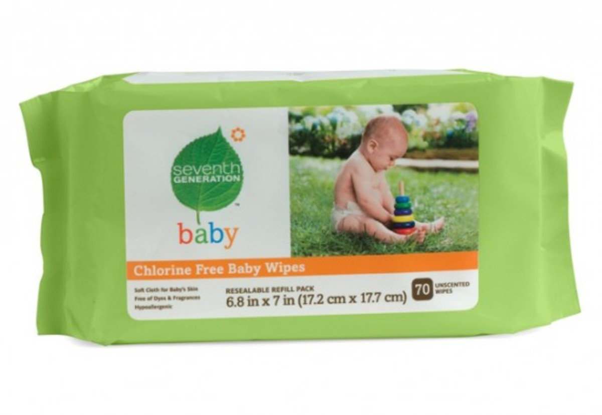 9. Seventh Generation Baby Wipes