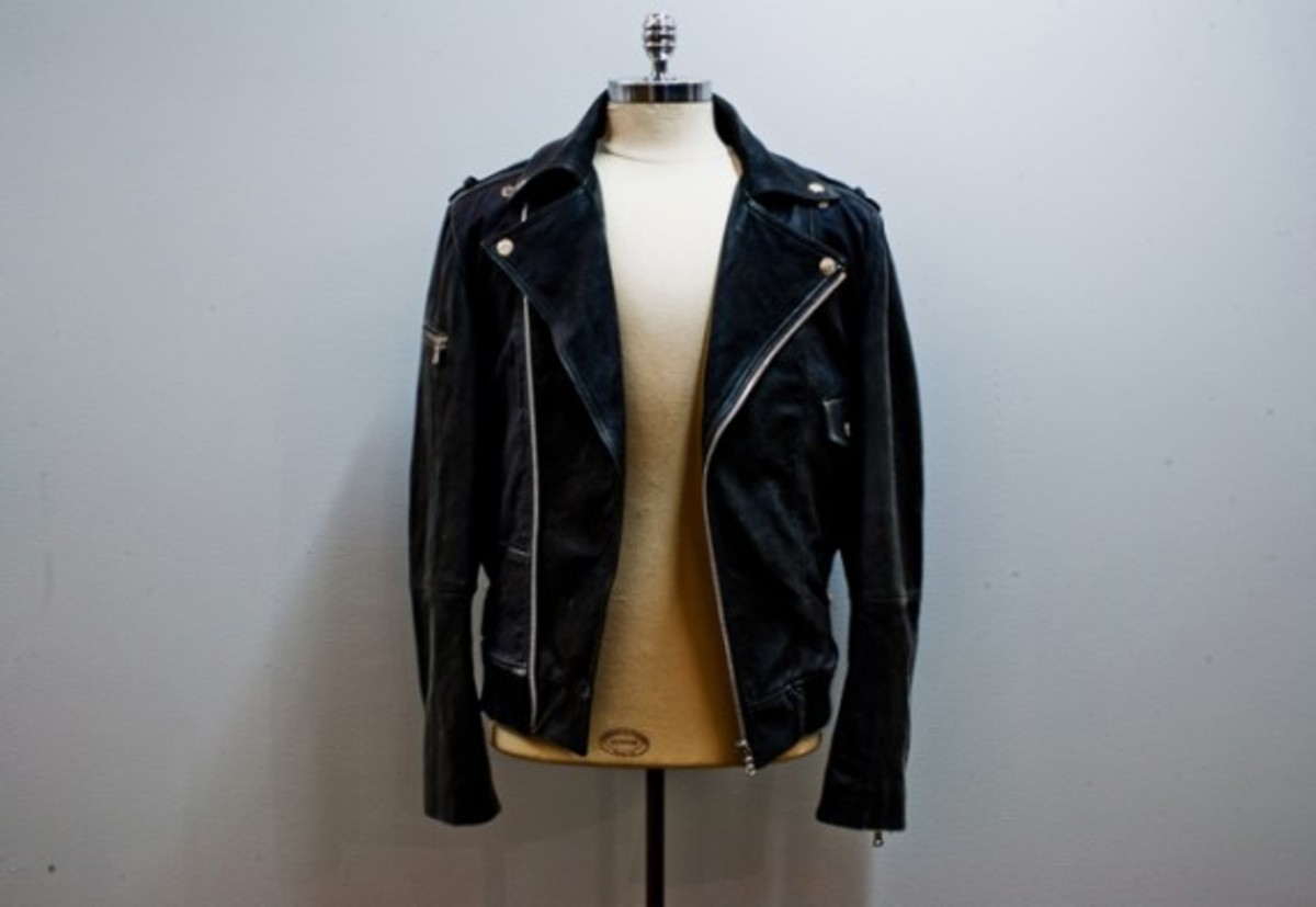 4. Public School Fratelli Lamb Biker Jacket