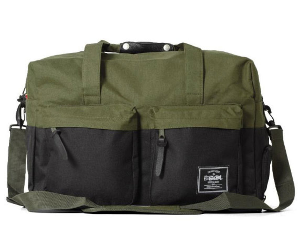 Stussy x Herschel Supply Co.- Duffle Bag Collection - Freshness Mag d418fb3b42943