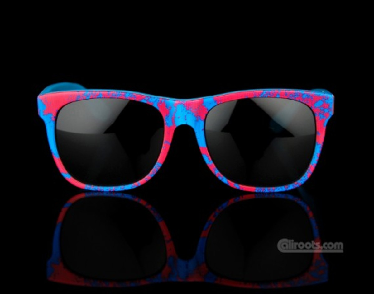 "SUPER x PAM - ""High"" Summer Sunglasses Blue - 00"