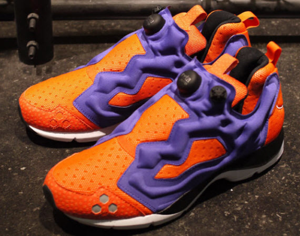 reebok pump fury hls orange purple freshness mag. Black Bedroom Furniture Sets. Home Design Ideas