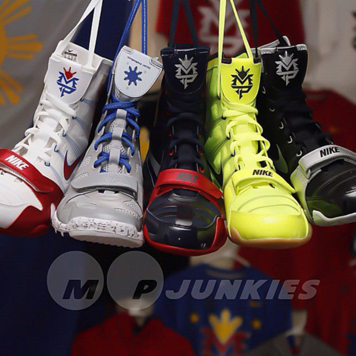 0dad4218134f Manny Pacquiao x Nike HyperKO MP Boxing Boot - New Colorways ...