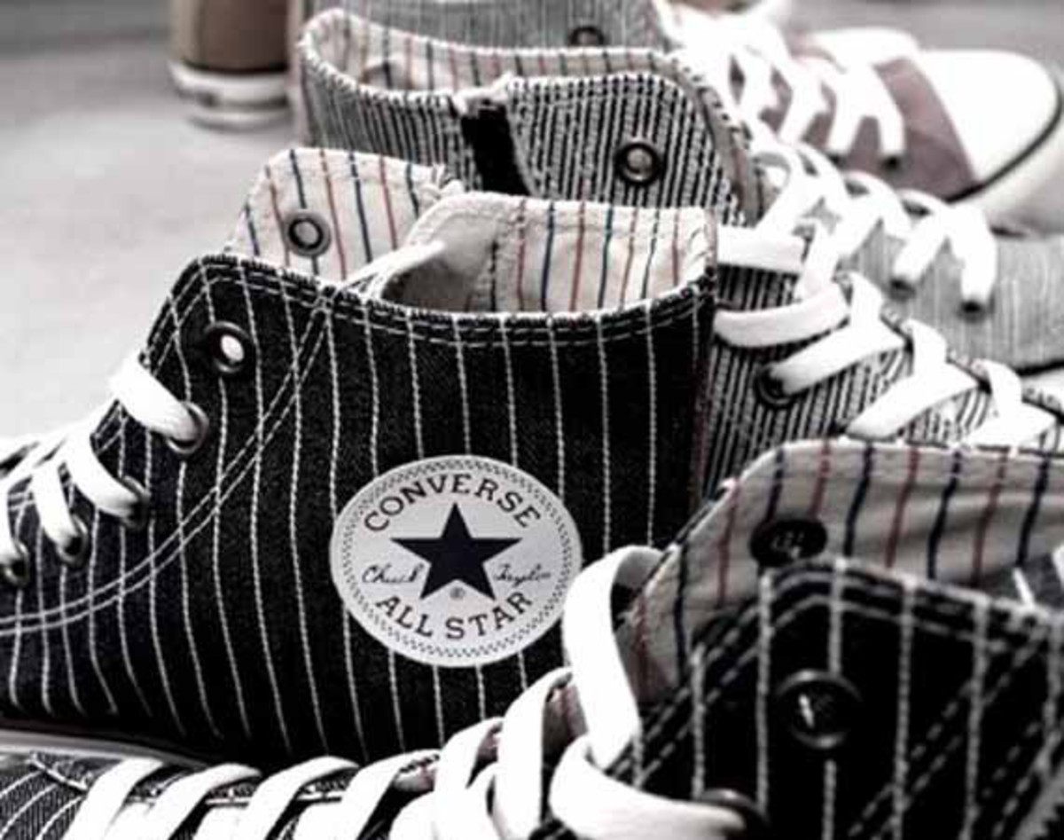 Converse has reworked its always reliable Chuck Taylor All Star in a number  of eye-catching makeups exclusively for Japan s ABC-Mart. 14f0171422