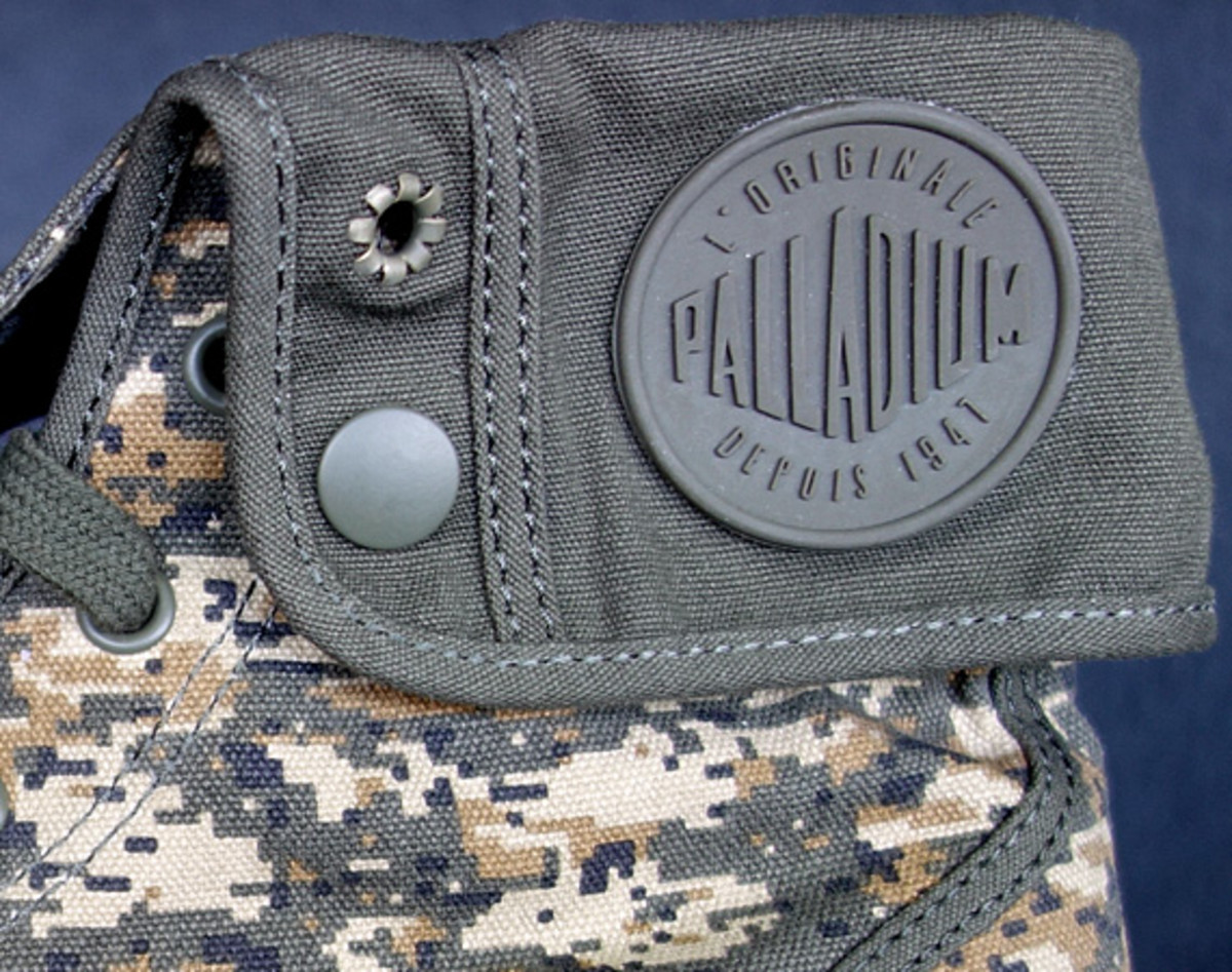 PROJECT Show New York Palladium Boots Baggy Canvas Digital
