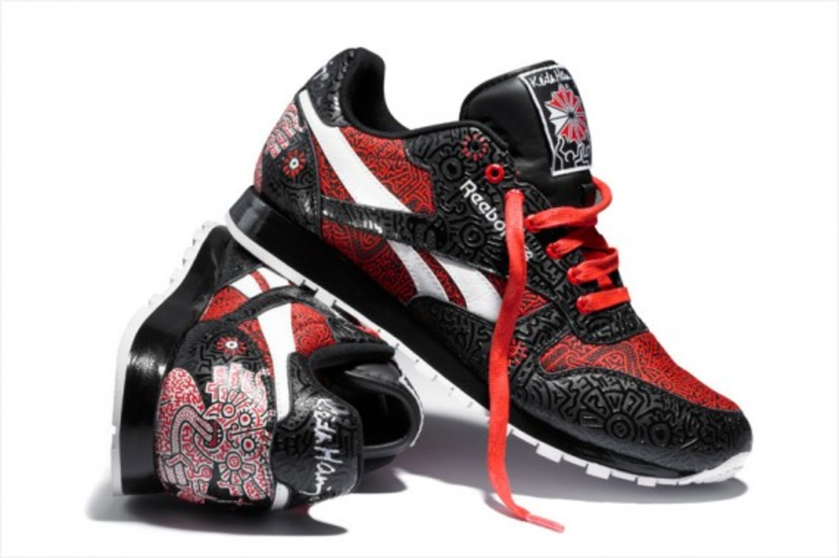 Keith Haring x Reebok Classic Leather Spring 2013