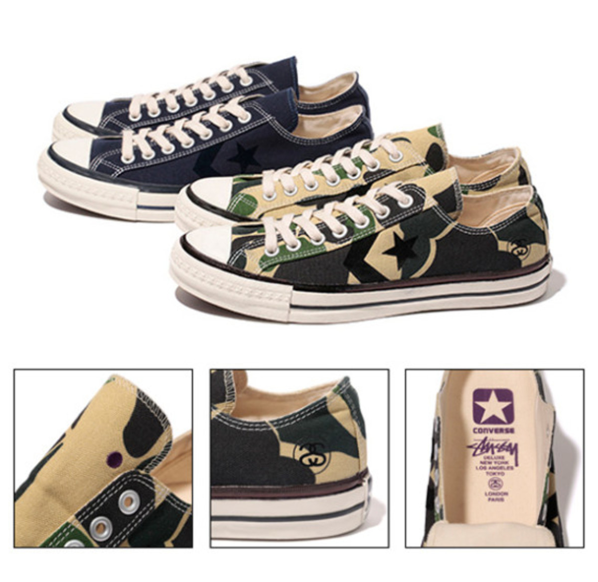 620a393fd7a3 Stussy Deluxe x CONVERSE CX-Pro Ox - Summer 2013 - Freshness Mag