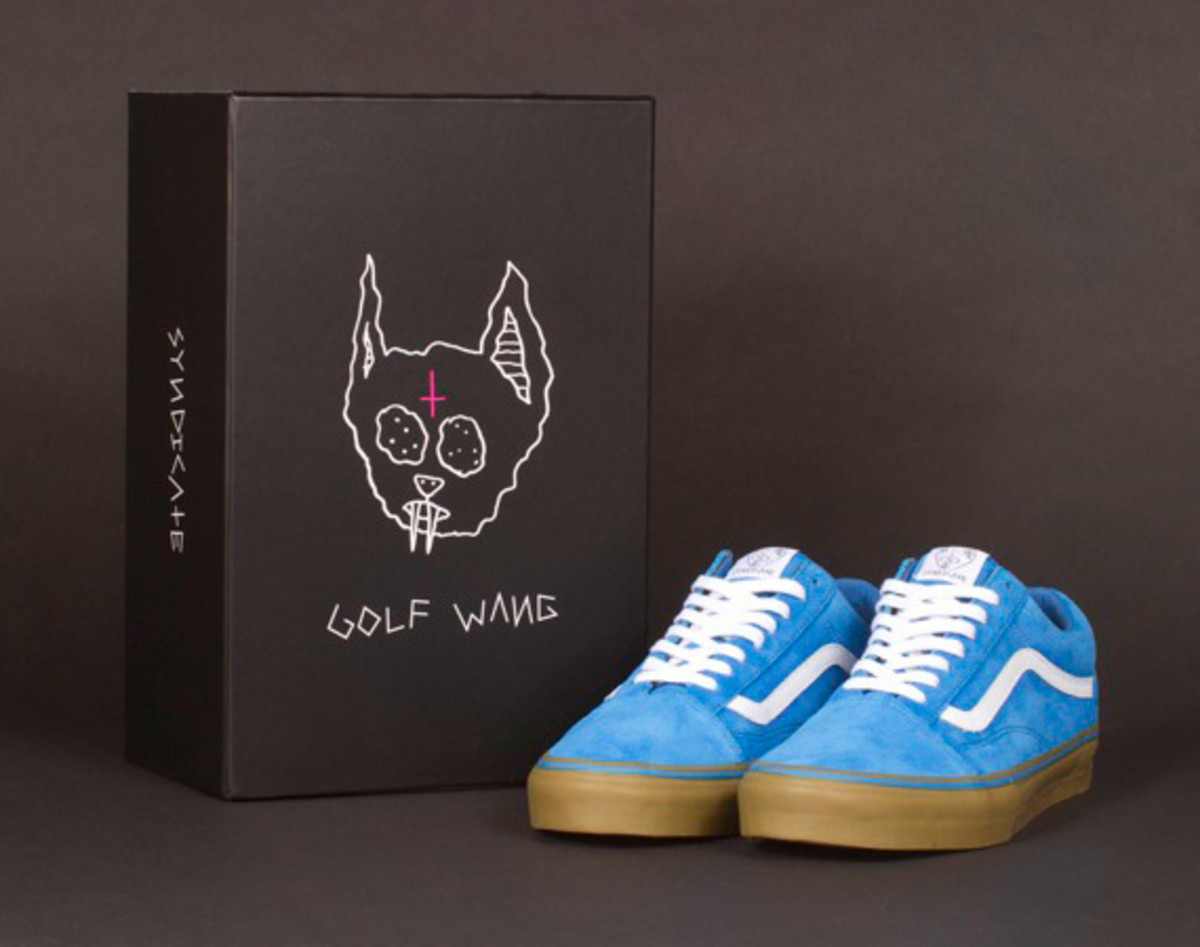 "ODD FUTURE x VANS Syndicate Old Skool Pro ""S"" - 1"
