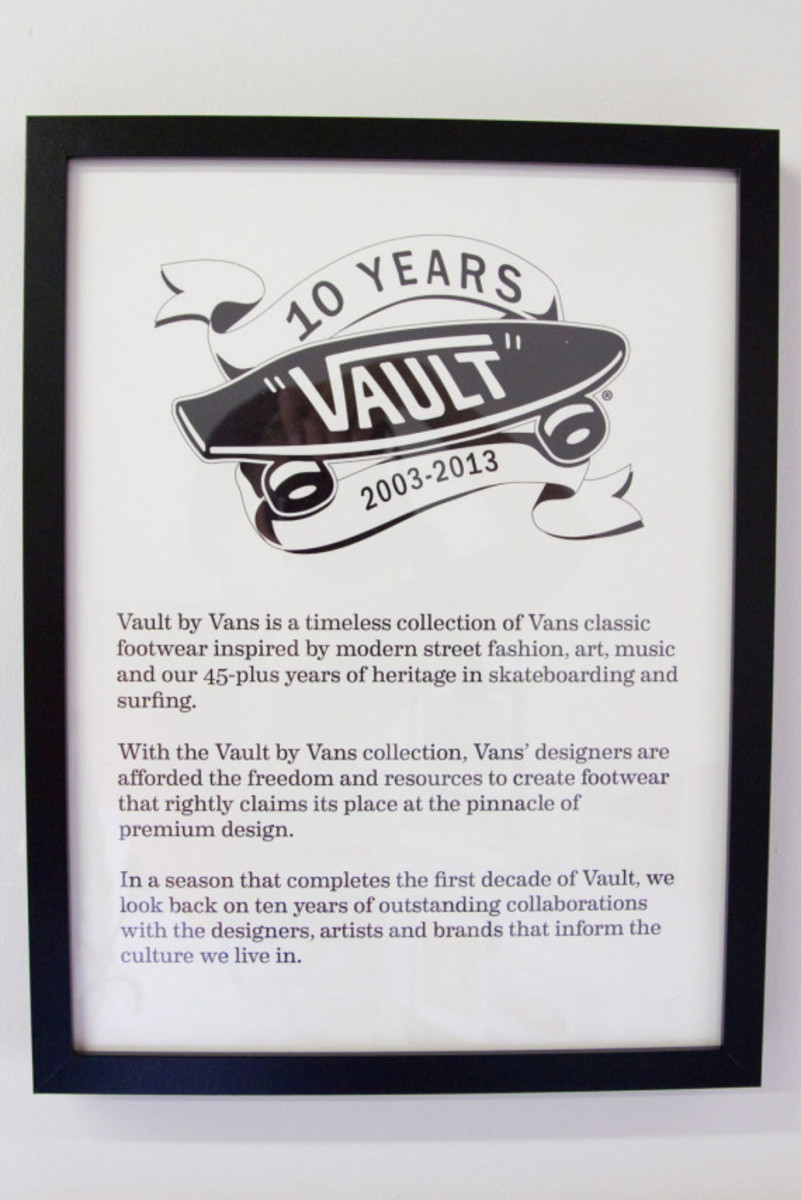 Vault by VANS - 10 Years Anniversary Exhibition at BLENDS Costa Mesa - 2