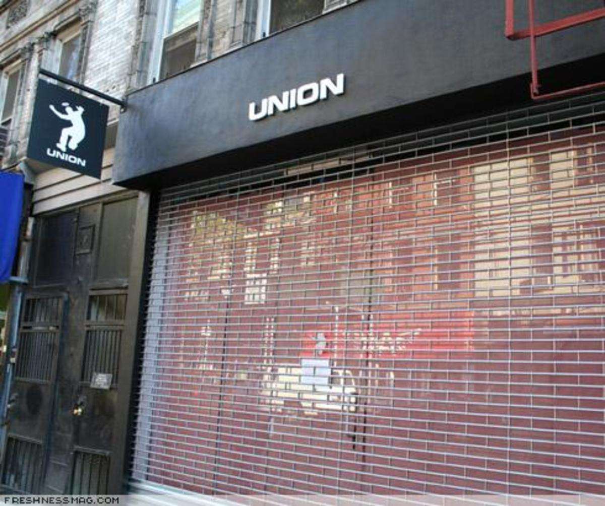 UNION - New Store in New York - 2