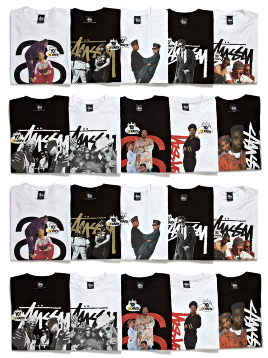 Stussy x Yo! MTV Raps   25th Anniversary Collection | Available Now