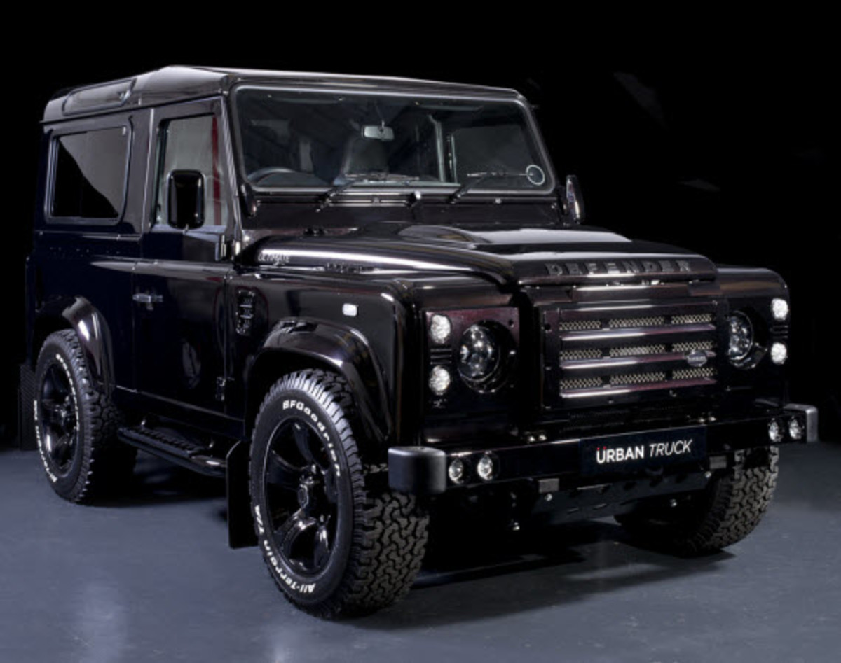 land rover defender ultimate edition by urban truck freshness mag. Black Bedroom Furniture Sets. Home Design Ideas