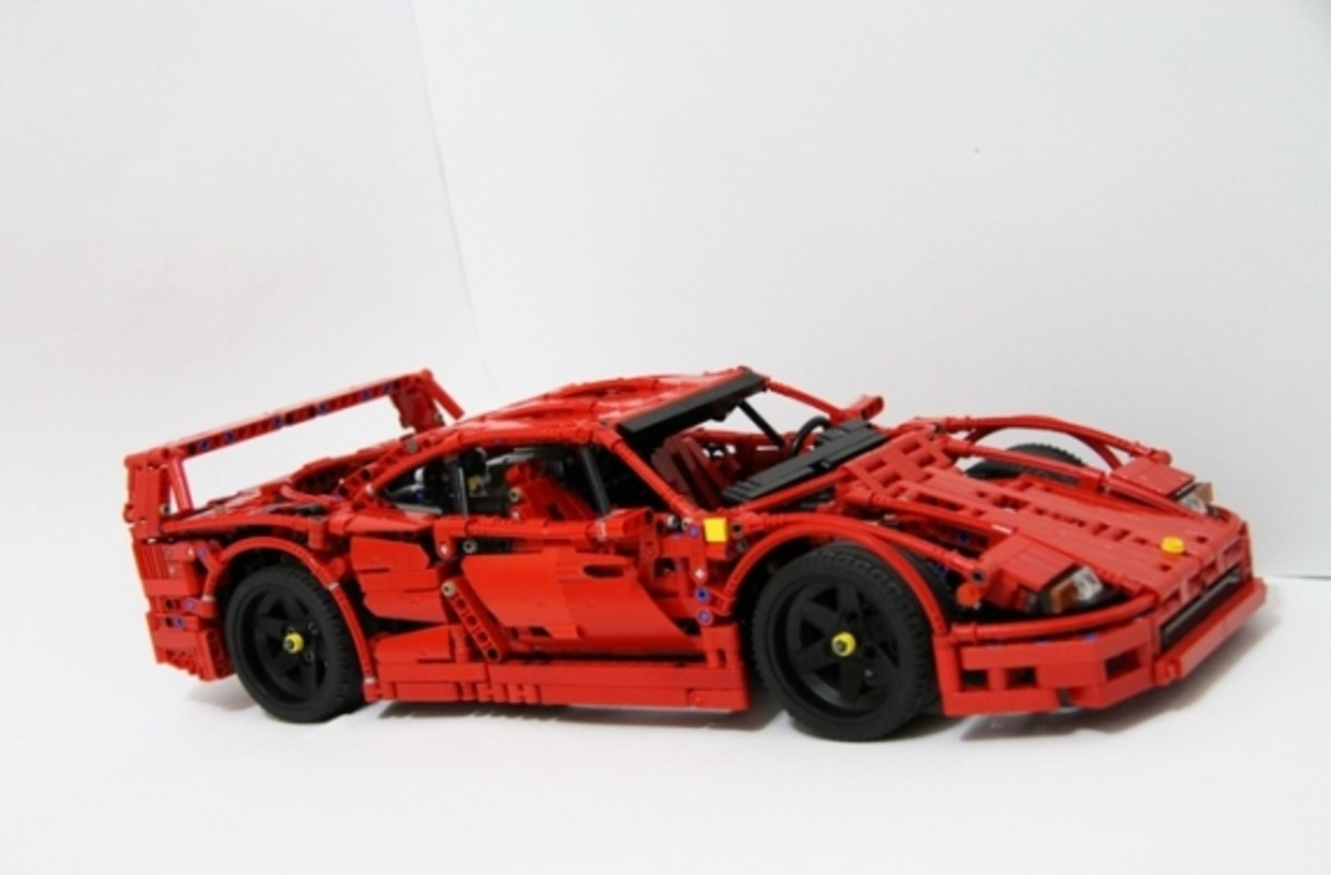 lego ideas ferrari f40 set freshness mag. Black Bedroom Furniture Sets. Home Design Ideas