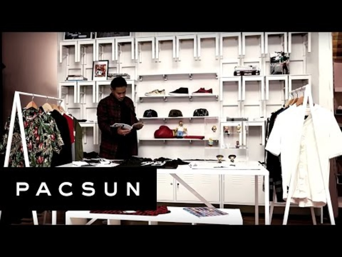 PacSun x Reed Space by Jeff Staple   Shop Within A Shop Concept