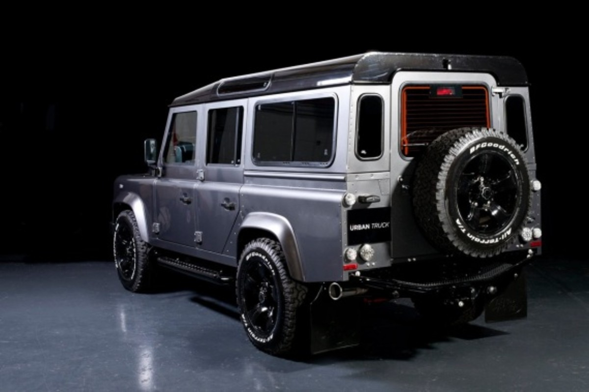land rover defender ultimate edition by urban truck freshness mag