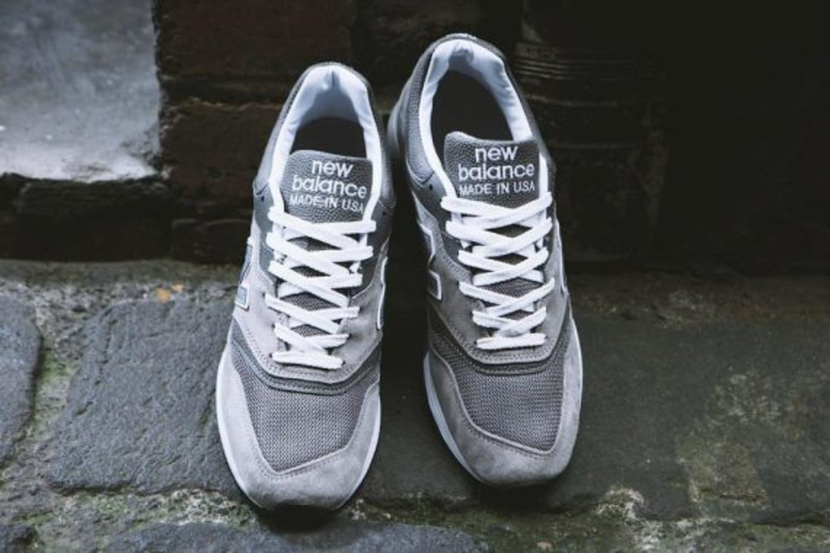 en voz alta luego Huracán  New Balance M997GY Made in USA - Up There Exclusive - Freshness Mag