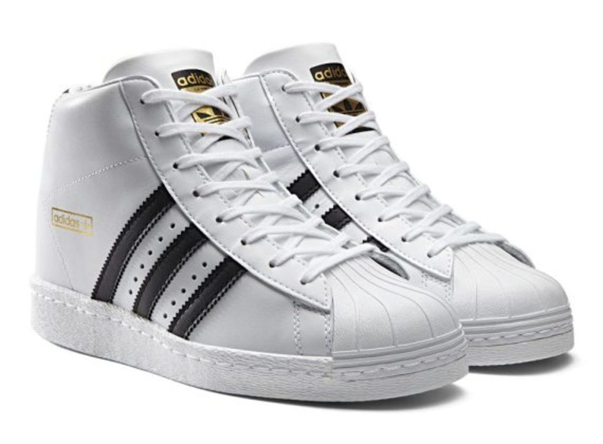 Adida High Top Superstars Shoes