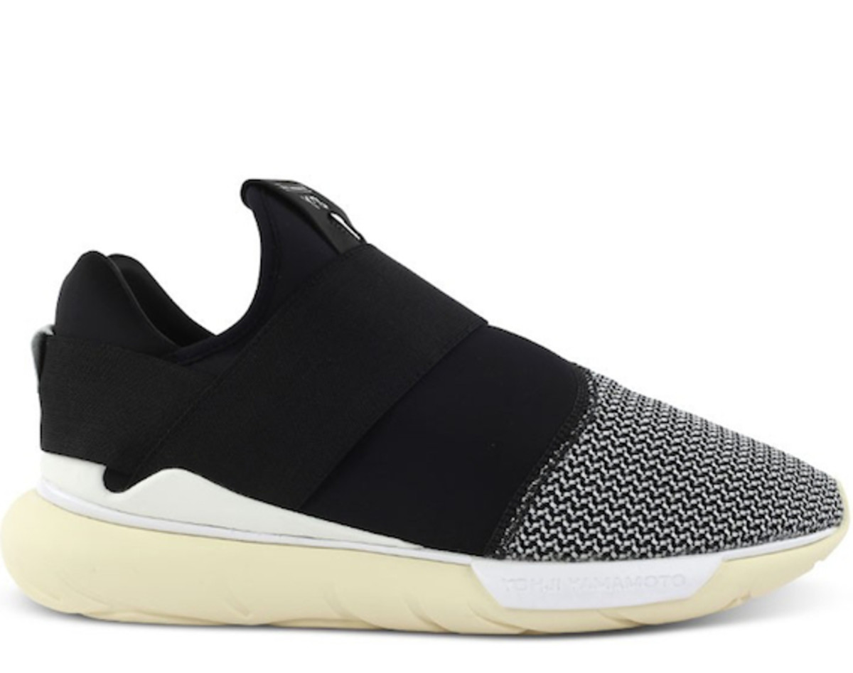 4c848b13199a Y-3 Qasa Low II - Black White - Freshness Mag