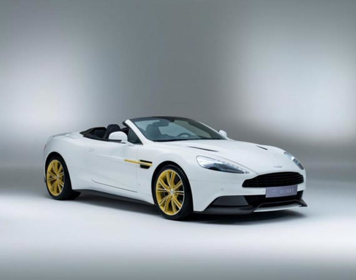 Aston Martin Works Vanquish – 60th Anniversary Edition