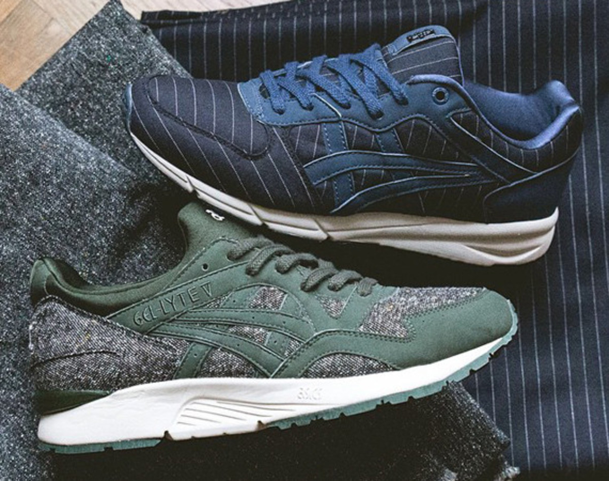 "Sneakersnstuff x ASICS x Onitsuka Tiger ""Tailor"" Pack"