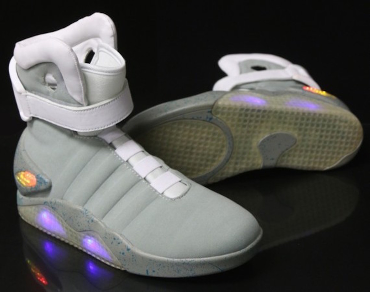 The legendary Nike Mag will be making its way into stores and hopefully  onto your feet later this year but if you can't wait any longer, you can  pass the ...