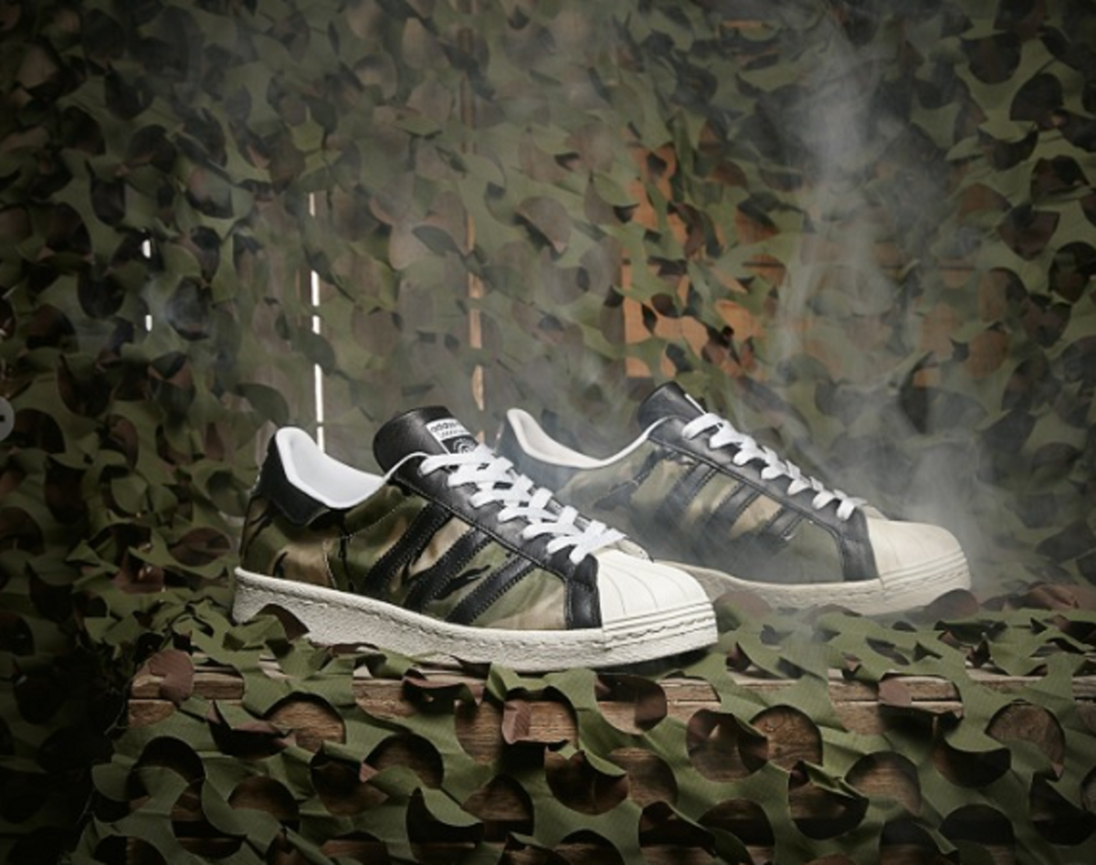 purchase cheap hot sale online really comfortable CLOT x adidas Originals by 84-Lab Superstar 80s - Freshness Mag