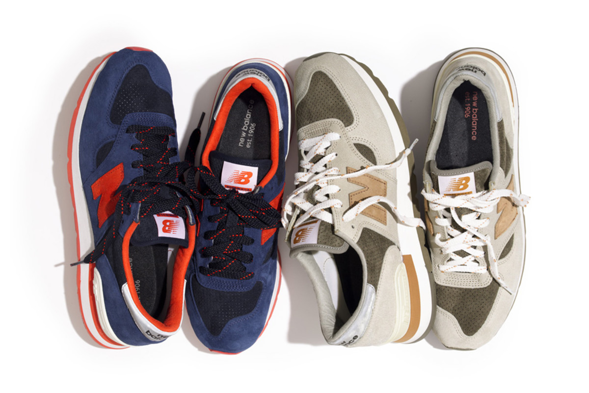 separation shoes 3e550 42d3a J.Crew x New Balance 990 V.1 Pack - Freshness Mag