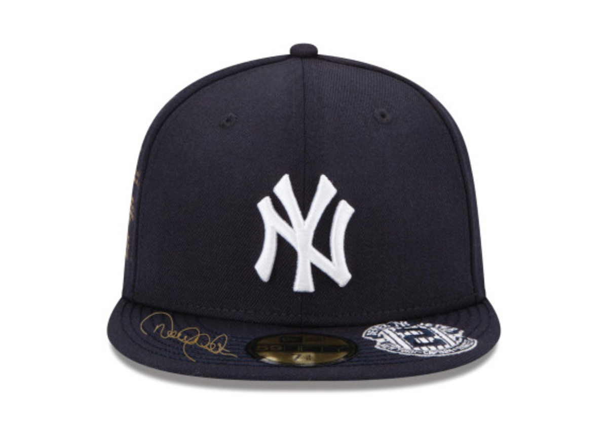 New Era for atmos NYC - NY Yankees Derek Jeter Fitted Hat ... 084e0a55534