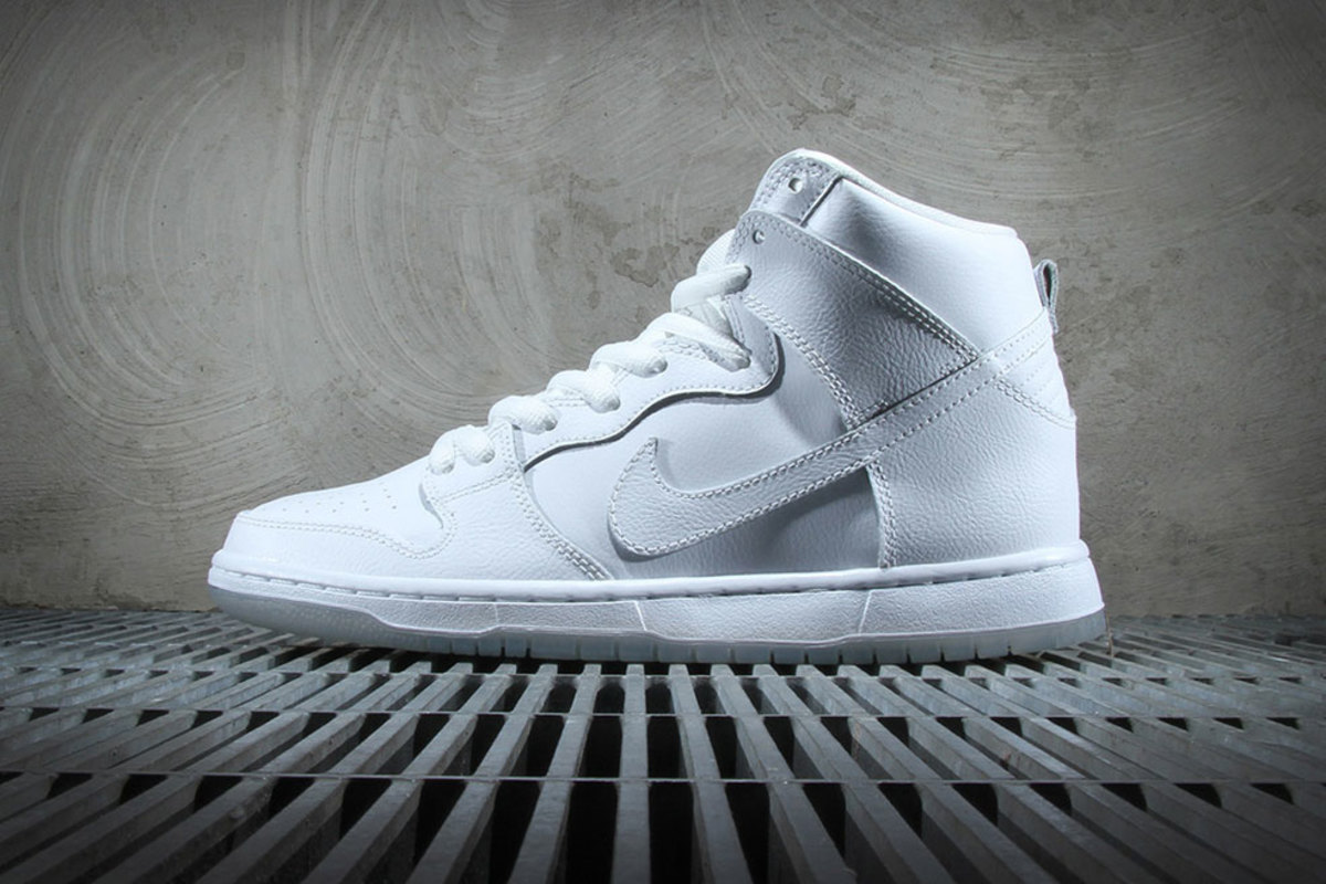 newest collection 4c4bb 68430 Nike SB Dunk High Pro – White/Light Base Grey - Freshness Mag