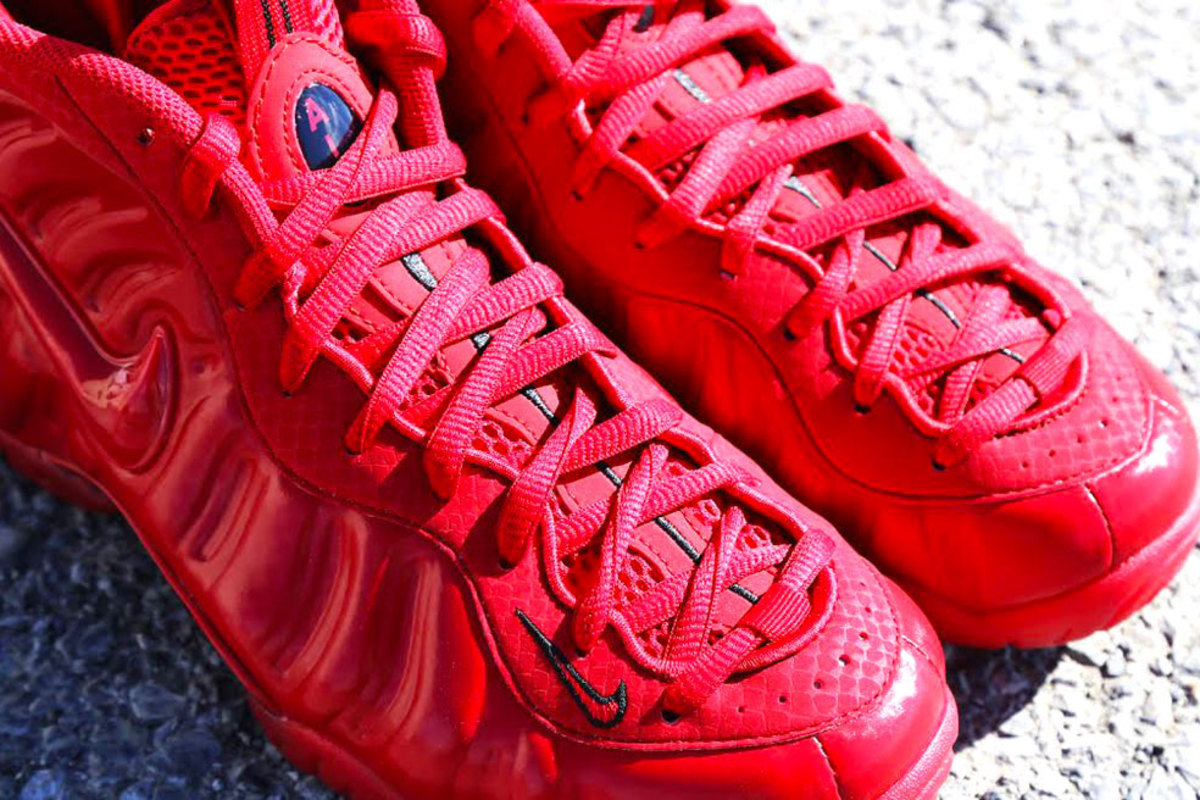 """d15610b623f Nike Air Foamposite Pro – """"Gym Red"""" - Freshness Mag"""