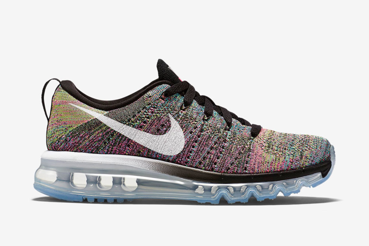 nike women s flyknit air max multi color freshness mag. Black Bedroom Furniture Sets. Home Design Ideas