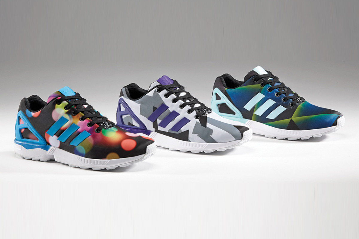 618f18d141f8 adidas Originals ZX Flux – March Print Pack - Freshness Mag