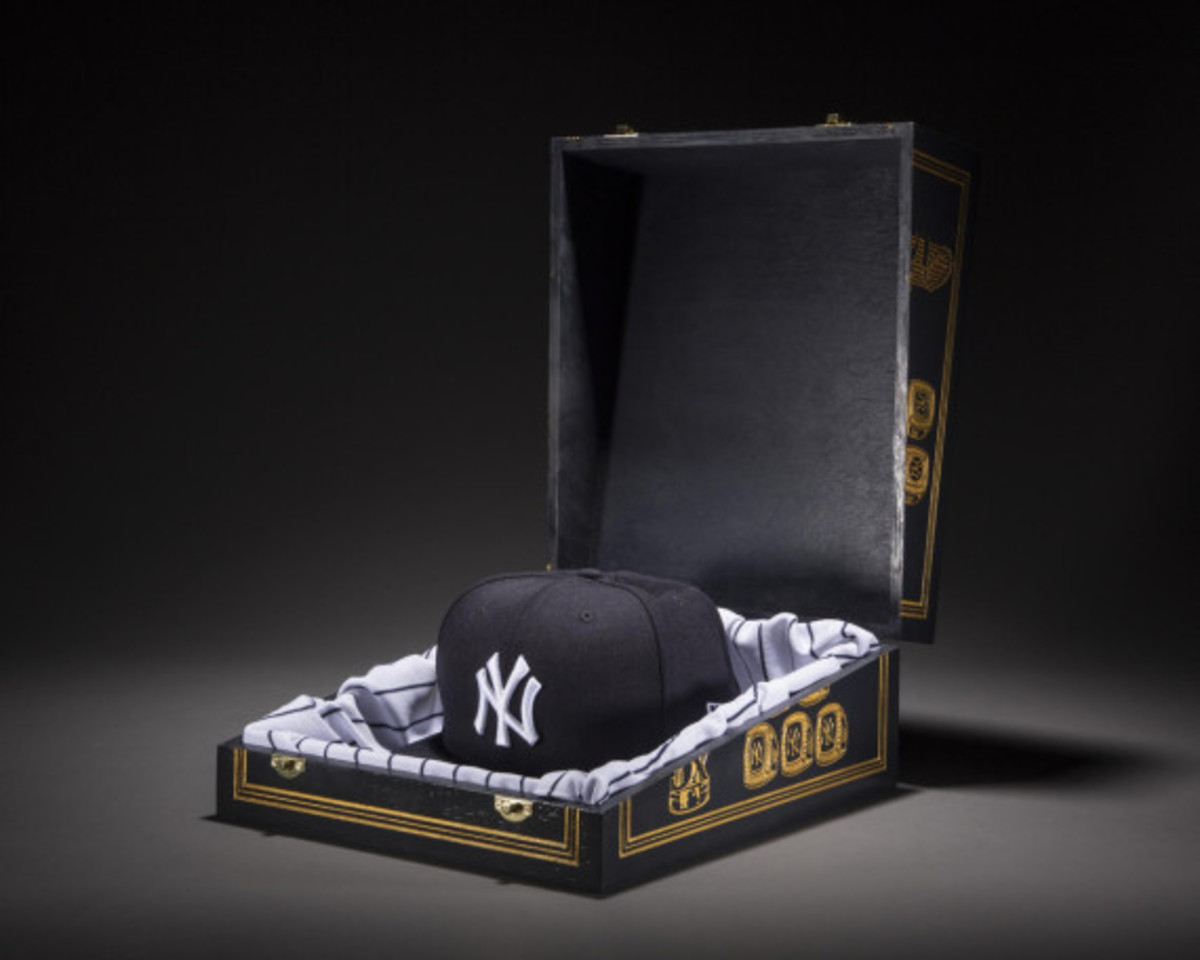 c0170df4d1d New Era for atmos NYC - NY Yankees Derek Jeter Fitted Hat ...