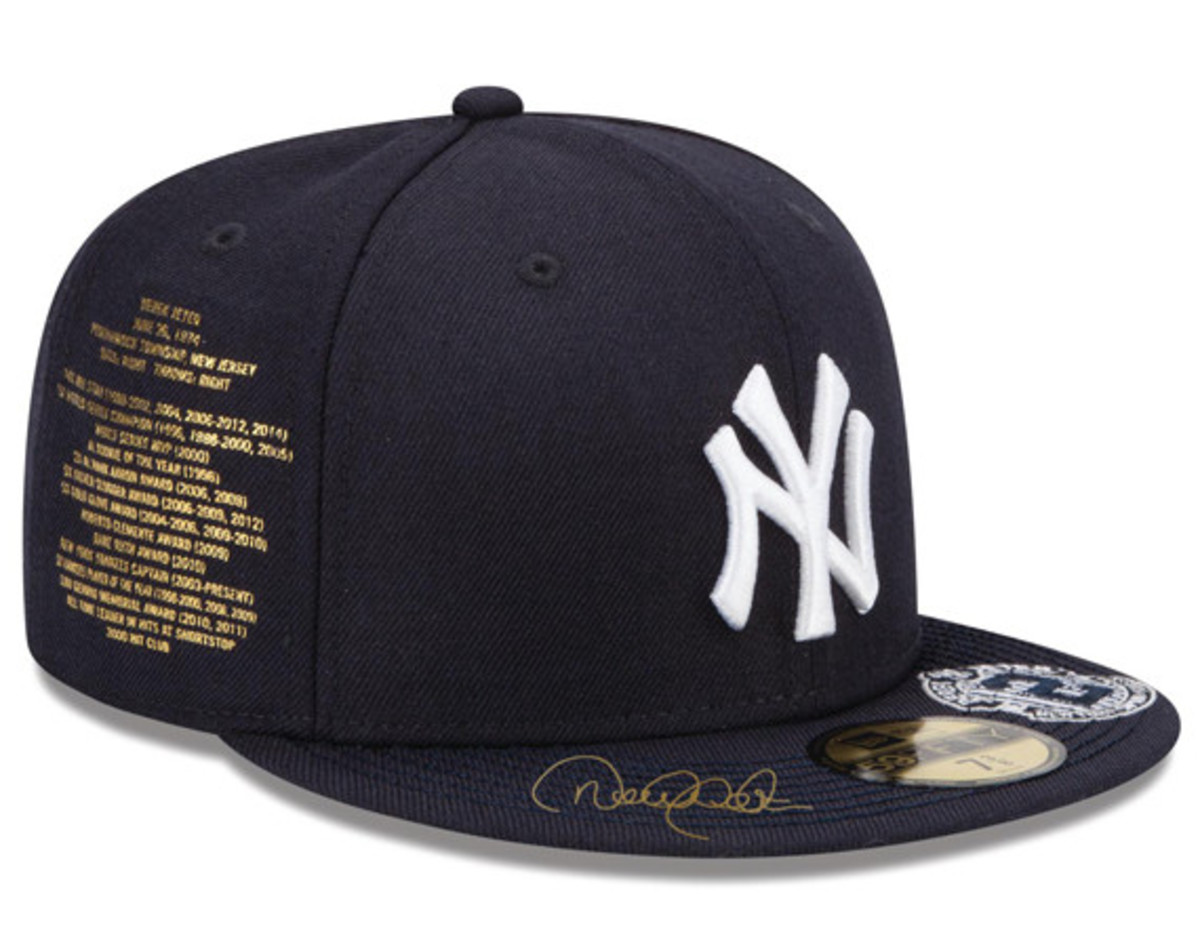 37d0fb6e813b2 New Era for atmos NYC - NY Yankees Derek Jeter Fitted Hat ...